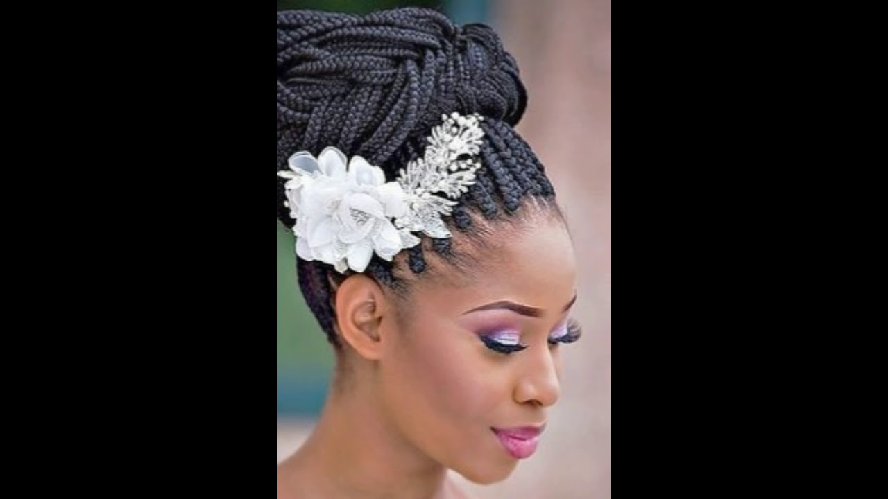 20 Natural Wedding Hairstyles For Black Hair Natural Black Wedding Hairstyles Youtube