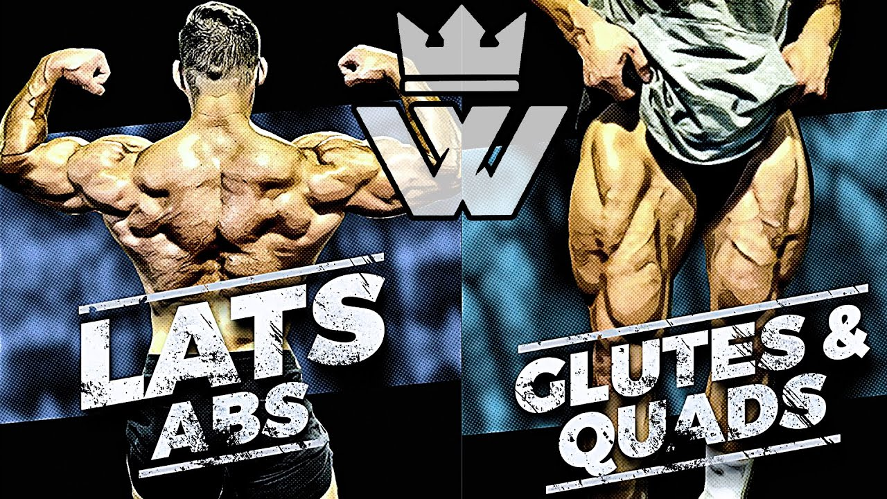 FULL BODY MASS WORKOUT | Lats, Glutes & Quads, Abs