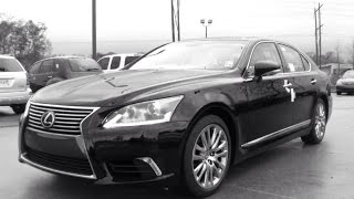 2015 Lexus LS 460 Full Review, Start Up, Exhaust