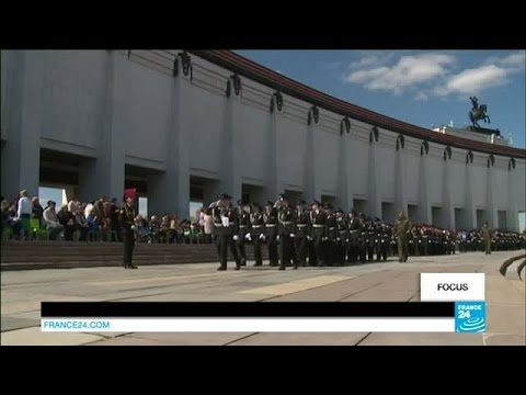Meeting Russia's young military cadets