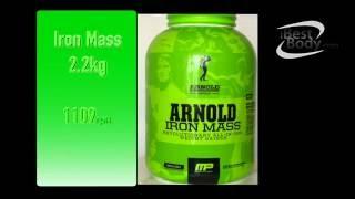 Гейнер Арнольд Iron Mass  купить 2.2кг Arnold series отзывы(Гейнер Арнольд Iron Mass предназначен для физически активных людей которые занимаються спортом. В особенности..., 2016-06-27T10:52:21.000Z)