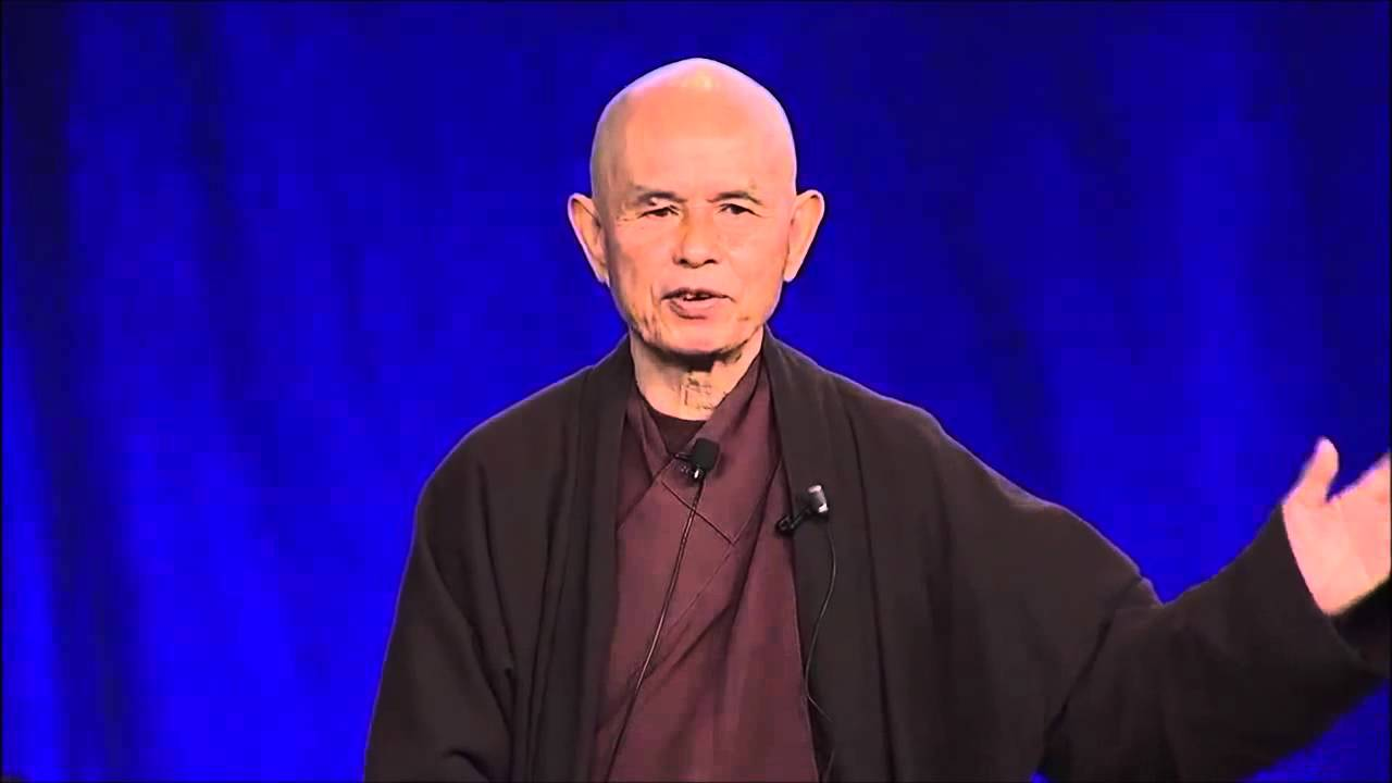 Thich Nhat Hanh Mindfulness As A Foundation For Health Talks At