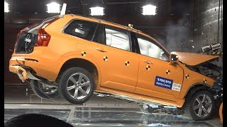 2019 Volvo XC90 – Frontal Crash test at 50 Mph