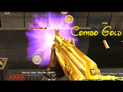 [Đột Kích] Bình luận CF - Combo Gold cực chất - Zombie V4