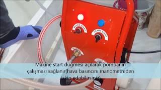 Havalı SBM makina ile petek temizleme nasil yapilir