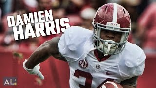 Watch highlights of Damien Harris from Alabama