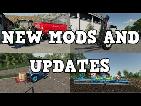 NEW MODS AND UPDATES OUT NOW      SEPT 11 2019 | Farming