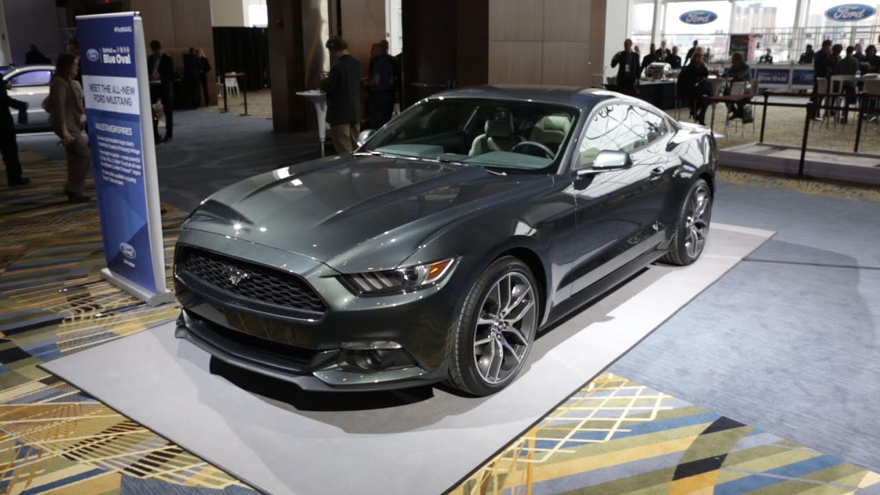 2015 Ford Mustang at the Detroit Auto Show | Consumer ...