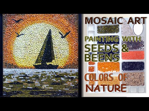 new-easy-painting-ideas-/-acrylic-painting-on-canvas-for-beginners-/-mosaic-art-/-diy-projects