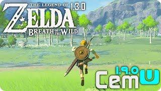ZELDA Breath Of The Wild on PC - CEMU 1.9.0 Performance - 30FPS on PC?