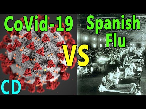 How does Coronavirus (Covid-19) compare to Spanish flu?