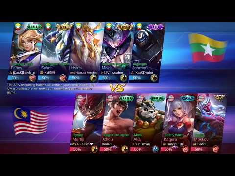 Let's Watch - Mobile Legend National Arena Contest: Malaysia vs Myanmar (Round 2)