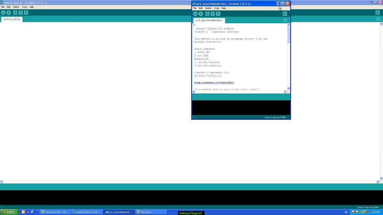 Arduino Uno Tutorial Basic Input / Output programming