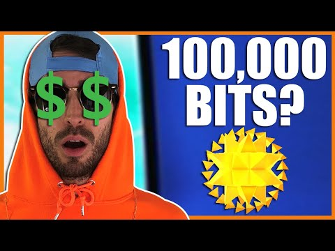 How Much Is 10k Bits On Twitch | Twitch Cheers