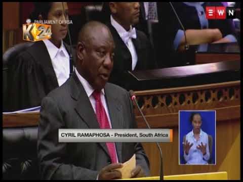 Cyril Ramaphosa elected unopposed as South Africa's new President