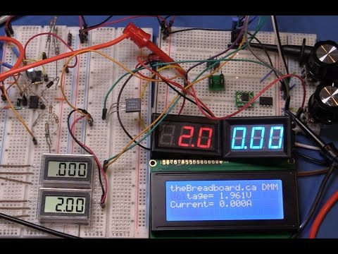 The Modular Bench Power System #9 - More on Displays and an Arduino UNO ADC + LCD
