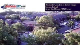 From Above: Fawn Ridge Condos in Rossville, Staten Island