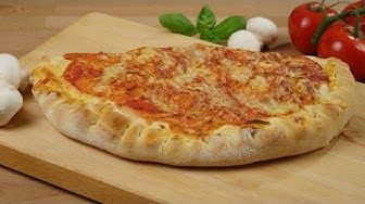 Calzone selber machen I Schnelle Calzone I Gefüllte Pizza I Pizzatasche