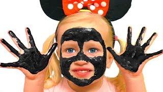 Мое лицо и руки черные - Детская песня | Песни для детей от Кати и Димы