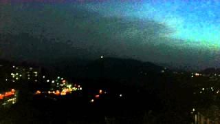 Twilight , vantage point , mall road , shimla