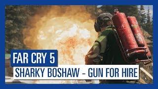 """Пироман """"Акула"""" Бошоу в новом трейлере игры Far Cry 5!"""