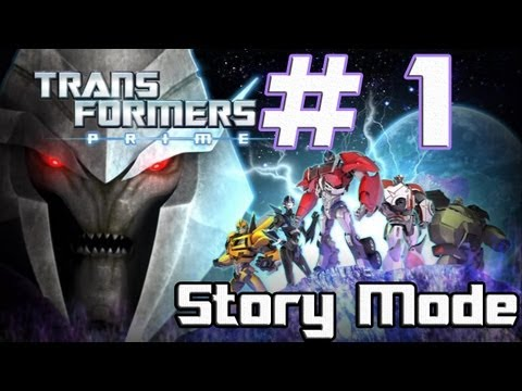Transformers: Prime -- The Game - Part 1 - Transform and Roll Out (Wii U)