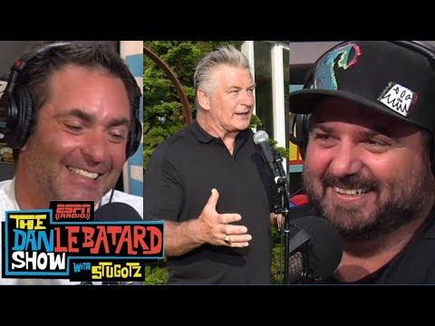 Daniel & Alec Baldwin make NFL picks, stoke show feud | Dan Le Batard Show | ESPN