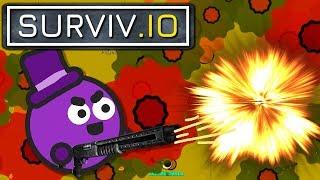 Explodierende Shotgun & Herbstmap! | Surviv.io