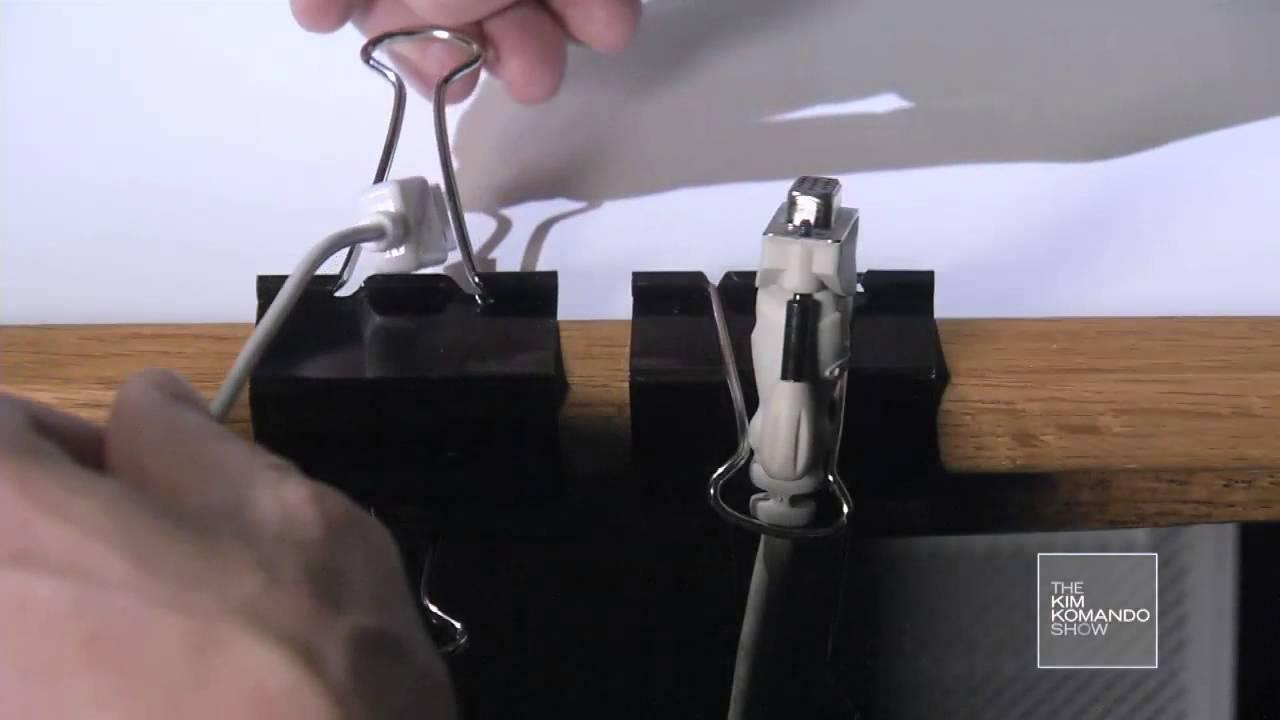 simple binder clip tricks youtube. Black Bedroom Furniture Sets. Home Design Ideas