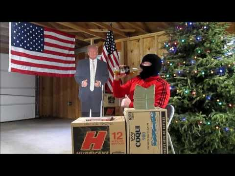 Donald Trump, Christmas Tree and Malt Liquor - Making America Great