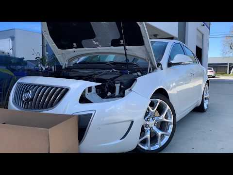 2013 Buick Regal GS Headlight Replacement
