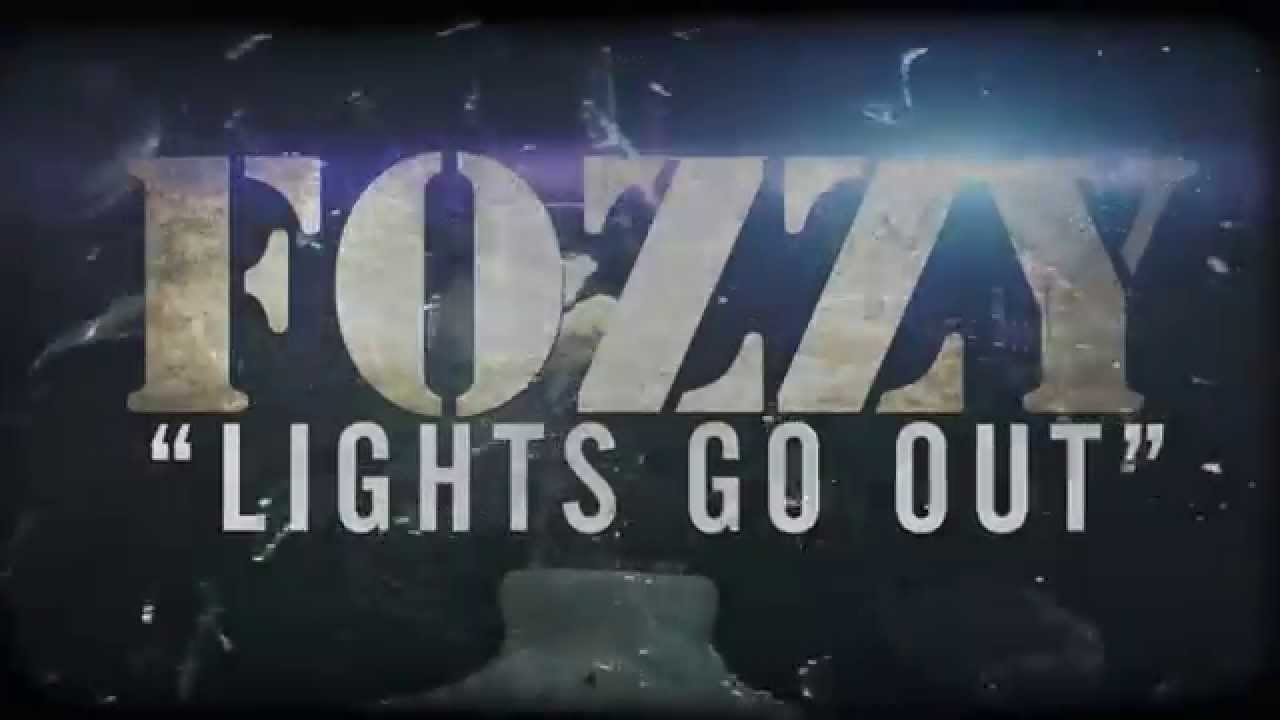 FOZZY - Lights Go Out (Lyric Video)