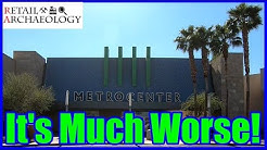 Metrocenter Mall: It's Much Worse! | Retail Archaeology Dead Mall Documentary