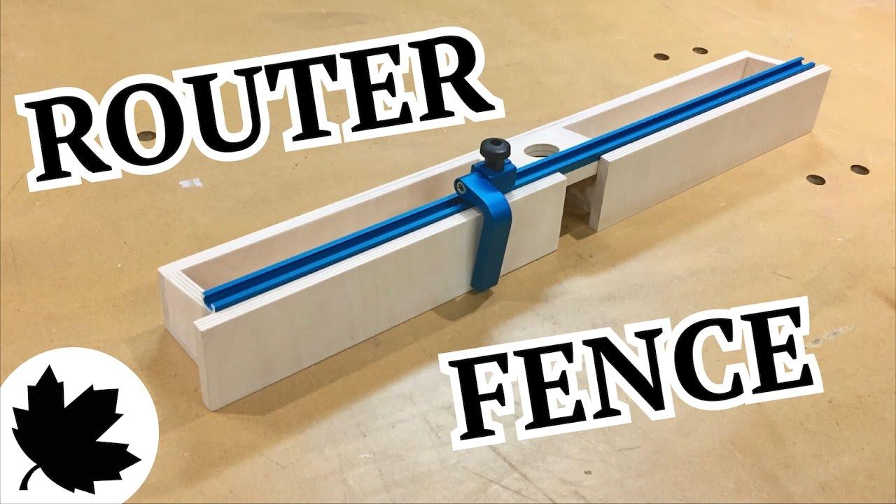Make It Adjustable Router Fence Doovi