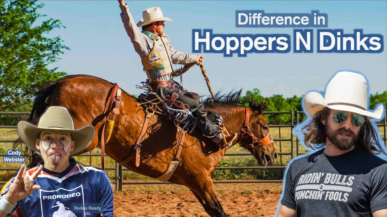 Hoppers n Dinks - Cody Webster gives us PBR rundown - Rodeo Time podcast 31