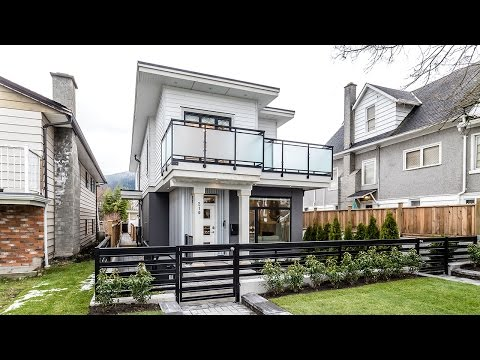 Luxury Custom built 3 level, half duplex in the heart of central Lonsdale.