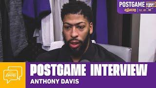 Lakers Postgame: Anthony Davis (12/1/19)