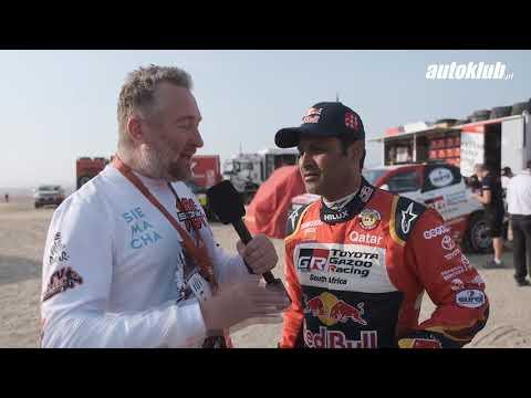 Rafał Sonik i Nasser Al-Attiyah - Rajd Dakar 2019