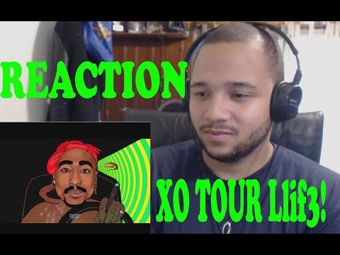 2Pac ft. Lil Uzi Vert - XO TOUR Llif3 Remix | REACTION!