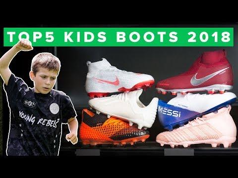 BEST FOOTBALL BOOTS FOR KIDS | Top 5 Kids Boots 2018