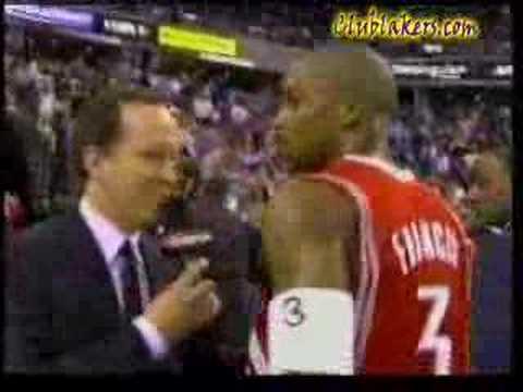 Steve Francis Cusses On ESPN