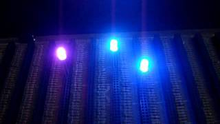 5mm RGB Diffused Slow Colour Change LED
