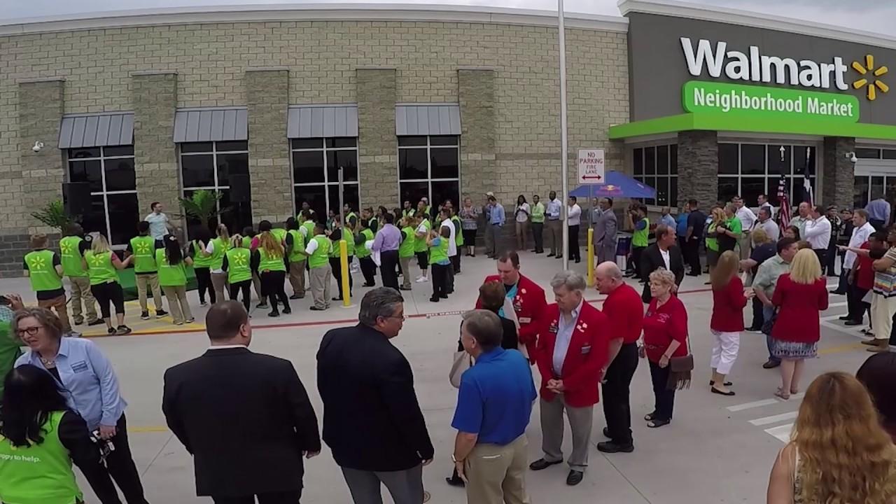 Walmart Neighborhood Market Grand Opening In Mesquite TX