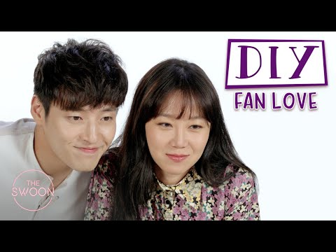 Cast of When the Camellia Blooms decorates photo frames for fans | DIY Fan Love [ENG SUB]
