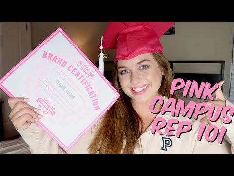 How to become a VS PINK Campus Rep + what you do as a PINK Rep!