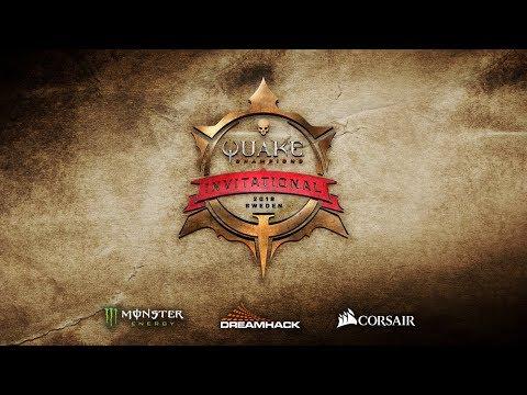 Quake Champions Invitational 2018 - DreamHack Winter - Day 1