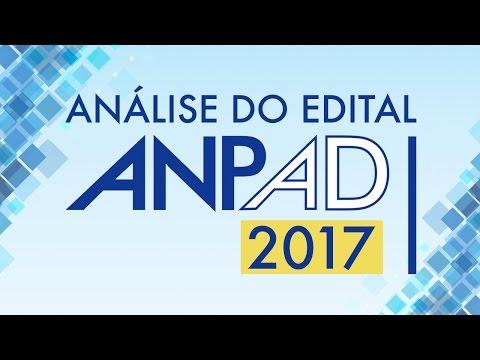 PDF ANTERIORES TESTE PROVAS ANPAD