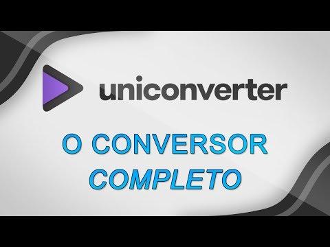 Uniconverter - O conversor de vídeo mais completo que você ja viu!