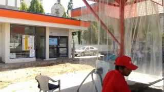 HONDA CITY AT CAR BOX AT INDIAN OIL PETROL PUMP