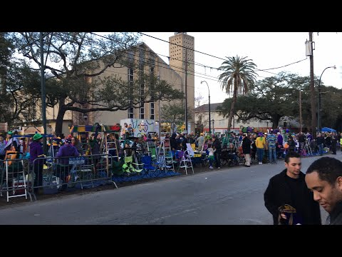 ParadeCam 2018: Krewes of Babylon, Chaos and Muses